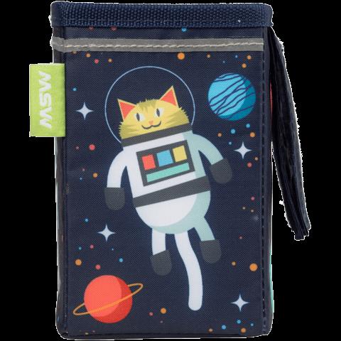 Kids' Handlebar Bag - Space Kitty