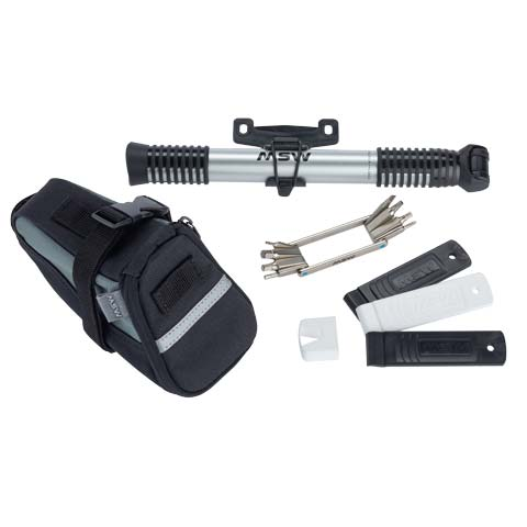 Ride and Repair Kit with Seatbag and Airlift Mini Pump