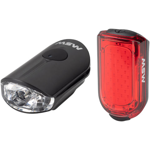 Pico 100-Lumen USB Headlight (HLT-100) and TigerMoth Taillight