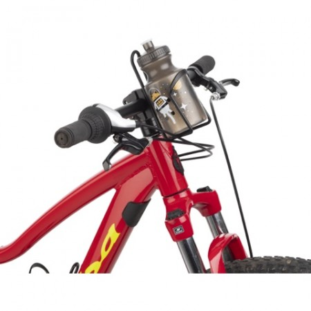 MSW Water Bottle and Cage Kit - Space Kitty Design - Mounted on Handlebars
