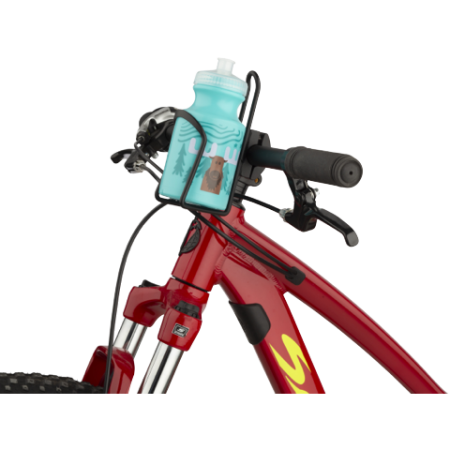 MSW Water Bottle and Cage Kit - Moose Design - Mounted on Handlebars