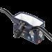 MSW Kids Handlebar Bag - Space Kitty - Top down view of bag mounted on handlebars